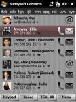 Screenshot programu Sunnysoft Contacts 2.0