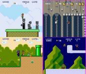 Screenshot programu Super Luigi against Stella Kaka