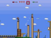 Screenshot programu Super Mario Bros X