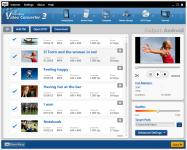 Screenshot programu SuperEasy Video Converter 3.00.5019