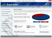 Screenshot programu SuperRam 7.12.7.2015
