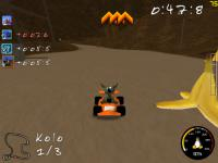 Screenshot programu SuperTuxKart 0.9.1