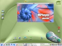 Screenshot programu openSUSE LINUX 12.1