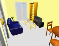 Screenshot programu Sweet Home 3D 5.1 Portable