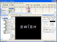 Screenshot programu SWiSHMax 4.0 Build 2011.06.20