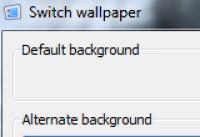 Screenshot programu Switch wallpaper 1.1.0.0