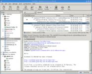 Screenshot programu Sylpheed 3.4.3