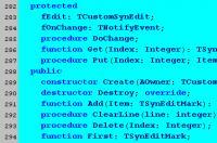 Screenshot programu SynEdit 2.0.6