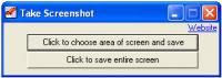 Screenshot programu Take Screenshot 1.0