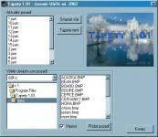 Screenshot programu Tapety 1.01