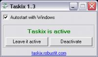 Screenshot programu Taskix 2.1