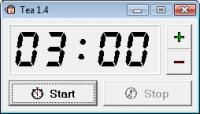 Screenshot programu Tea Timer 2.4.21.50
