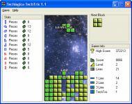 Screenshot programu TechTris  1.2