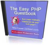 Screenshot programu The easy PHP Guestbook 0.7.1 Free