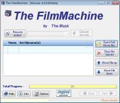 Screenshot programu The FilmMachine 1.6.0.13  Beta