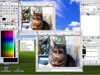 Screenshot programu GIMP 2.7.5 Beta