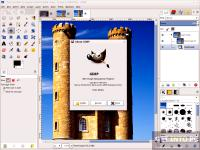 Screenshot programu GIMP 2.8.16