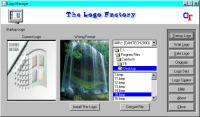 Screenshot programu The Logo Factory 2.0