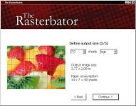 Screenshot programu The Rasterbator 1.2