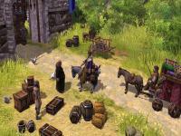 Screenshot programu The Settlers III patch 1.23