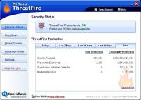 Screenshot programu ThreatFire 4.7.0.11