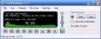 Screenshot programu TinyWebRadio 2.3