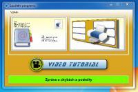 Screenshot programu Tisk obálek Visual 4.0.1.0