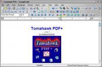 Screenshot programu Tomahawk PDF+ 3.1.0.0