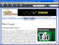 Screenshot programu Torpark 2.0.0.2