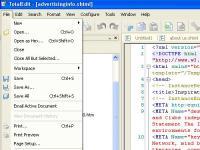 Screenshot programu TotalEdit 5.4.7