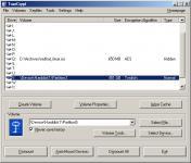 Screenshot programu TrueCrypt 7.1a