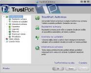 Screenshot programu TrustPort U3 Antivirus 2012 12.0.0.4845