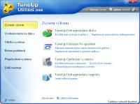 Screenshot programu TuneUp Utilities čeština