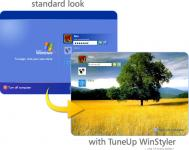 Screenshot programu TuneUp WinStyler 4.1.2420