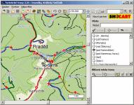 Screenshot programu Turistické trasy 2.29