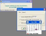 Screenshot programu Turnoff Master 2.0.0.0