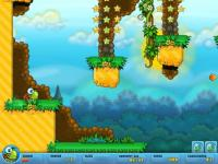 Screenshot programu Turtix - Záchranná výprava