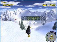 Screenshot programu Tux Racer 0.61a