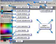 Screenshot programu TwistedBrush Open Studio 17.23