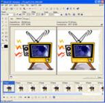 Screenshot programu Ulead GIF Animator  5.0