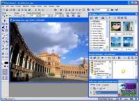 Screenshot programu Ulead PhotoImpact 13