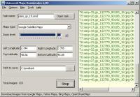 Screenshot programu Universal Maps Downloader 7.514