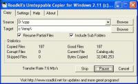 Screenshot programu Unstoppable Copier 5.2
