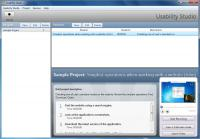 Screenshot programu Usability Studio 3.1.5254.20225