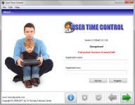 Screenshot programu User Time Control Center 6.1.3.1