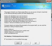 Screenshot programu UXTheme Multi-Patcher 14.2