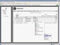 Screenshot programu v-webmail 1.6.4