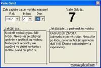 Screenshot programu Vaše číslo 2.0