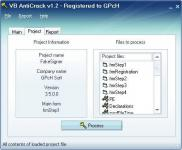 Screenshot programu VB AntiCrack 1.8