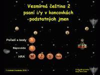 Screenshot programu Vesmírná čeština 2 1.0